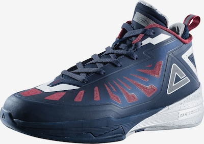 PEAK Basketballschuh Lightning III in blau: Frontalansicht