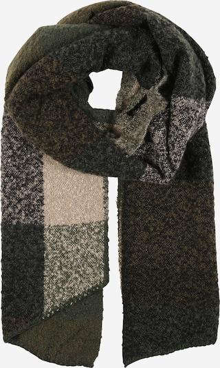 ONLY Schal 'LIMA' in nude / hellgrau / graumeliert / dunkelgrün, Produktansicht