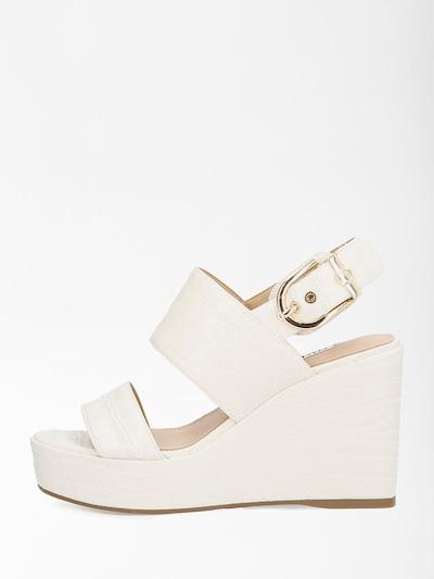 GUESS Sandale in beige, Produktansicht