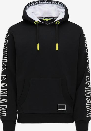BRUNO BANANI Sweatshirt in schwarz, Produktansicht
