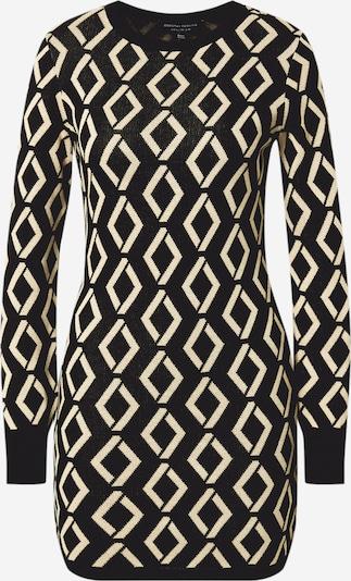 Dorothy Perkins Adīta kleita krēmkrāsas / melns, Preces skats