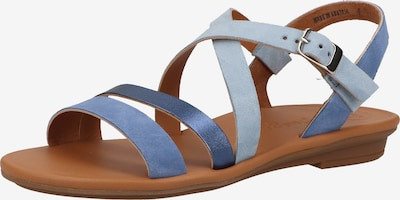 Paul Green Sandalen in hellblau, Produktansicht