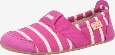 Living Kitzbühel Hausschuh in pink / weiß, Produktansicht