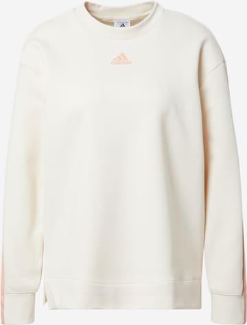 ADIDAS PERFORMANCE Athletic Sweatshirt in Beige