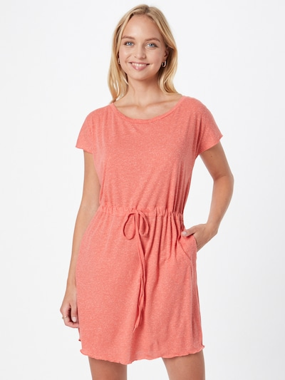 VERO MODA Kleid 'LUA' in koralle, Modelansicht