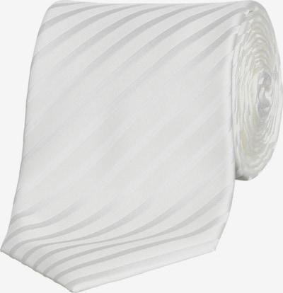 OLYMP Krawatte in silber / weiß, Produktansicht