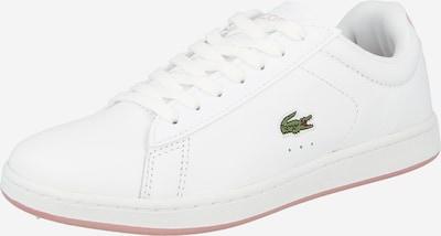 LACOSTE Sneaker in puder / silber / weiß, Produktansicht