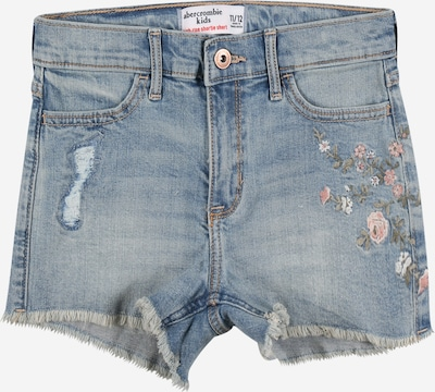 Abercrombie & Fitch Shorts 'HR FASHION' in blue denim / khaki / rosa, Produktansicht