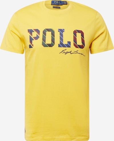 Polo Ralph Lauren T-Shirt in dunkelblau / gelb / weinrot, Produktansicht