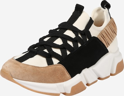 Billi Bi Sneakers low in light beige / black / white, Item view