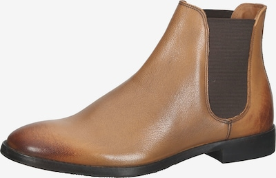 Gordon & Bros Chelsea boots in de kleur Lichtbruin, Productweergave
