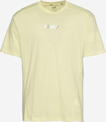 T-Shirt fonctionnel PUMA en jaune