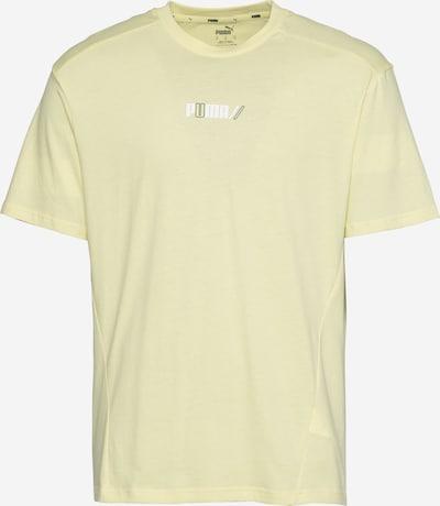 PUMA Funkčné tričko - svetložltá / čierna / biela, Produkt