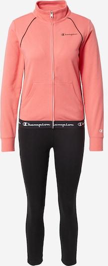 Treniruočių kostiumas iš Champion Authentic Athletic Apparel, spalva – rožinė / juoda / balta, Prekių apžvalga