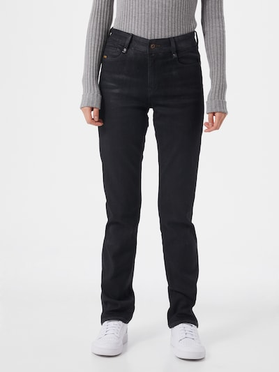 G-Star RAW Jeans 'Noxer' in black denim, Modelansicht