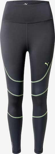 PUMA Sports trousers 'Winter Pearl' in anthracite / neon green, Item view
