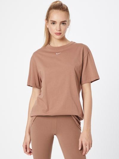 Rochie sport Nike Sportswear pe maro / alb, Vizualizare model