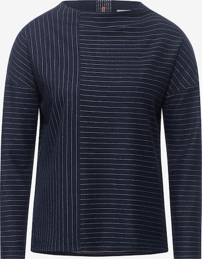 CECIL Shirt in de kleur Marine / Wit, Productweergave