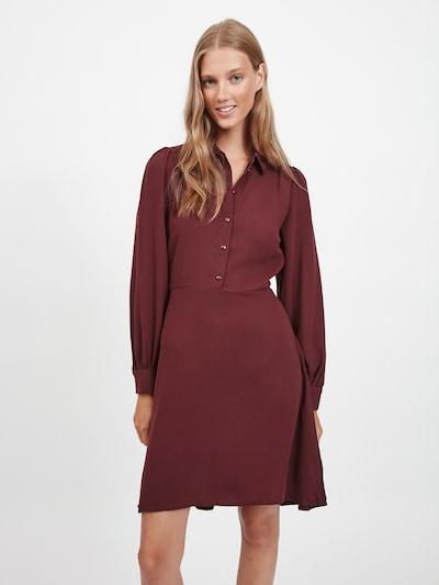 VILA Košeľové šaty 'Nalu' - čerešňová, Model/-ka