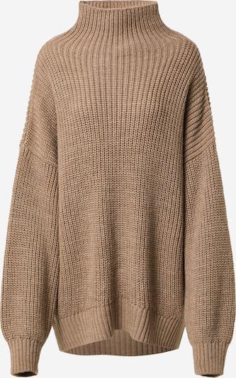 Karo Kauer Pullover i brun, Produktvisning