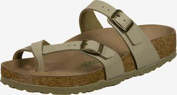 BIRKENSTOCK T-Bar Sandals 'Mayari' in Green