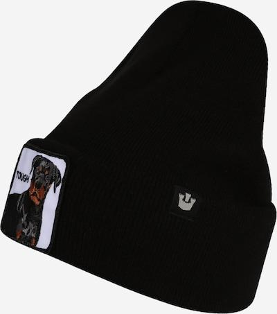 GOORIN Bros. Muts 'Tough Dog' in de kleur Bruin / Zwart / Wit, Productweergave