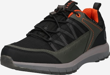 melns bugatti Zemie brīvā laika apavi 'Pampa'