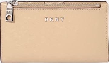 DKNY Geldbörse 'BRYANT-NEW BIFOLD CA' in Beige