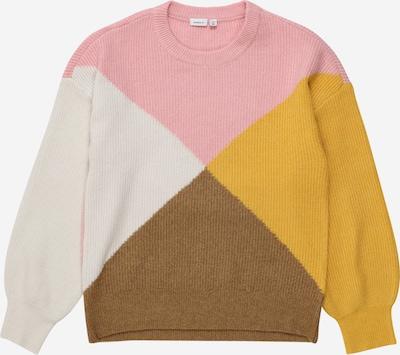 NAME IT Pullover 'Nimette' in beige / braun / honig / altrosa, Produktansicht