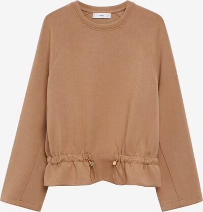 MANGO Sweatshirt 'Papier' in hellbraun, Produktansicht