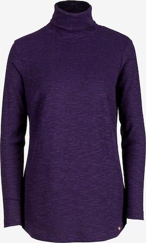 HELMIDGE Sweater in Purple
