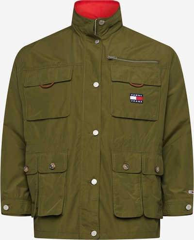 Tommy Jeans Curve Between-Season Jacket in Olive, Item view