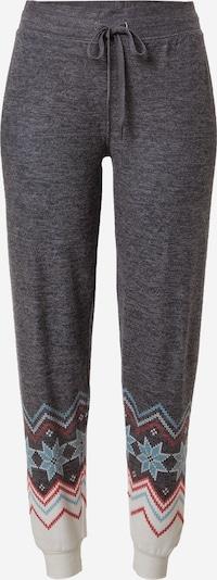 PJ Salvage Pyžamové kalhoty - světlemodrá / šedý melír / červená / bílá, Produkt