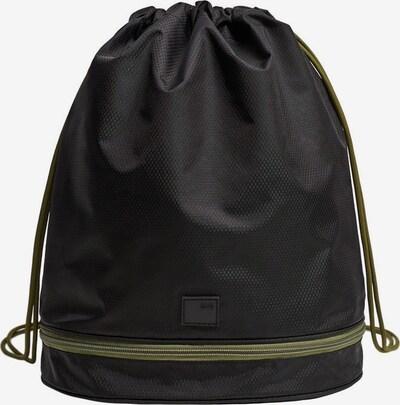 MANGO MAN Rucksack 'Online3' in oliv / schwarz, Produktansicht