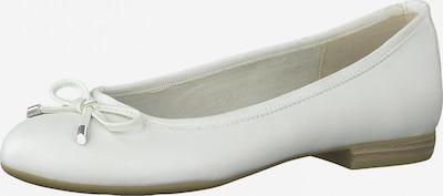 MARCO TOZZI Ballerina in weiß, Produktansicht