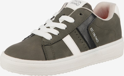 Sprox Sneaker in dunkelgrau / oliv / dunkelorange / rosa / weiß, Produktansicht