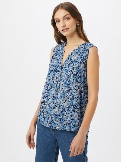 ESPRIT Blus 'CVE' i blå / marinblå / rosa / vit, På modell