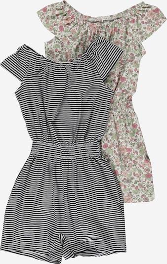 Tuta 'Josephine' NAME IT di colore verde / rosa / nero / bianco, Visualizzazione prodotti