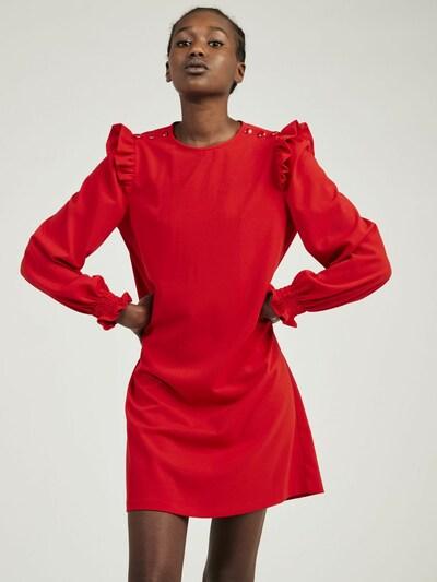 NAF NAF Jurk 'Zoe' in de kleur Rood, Modelweergave