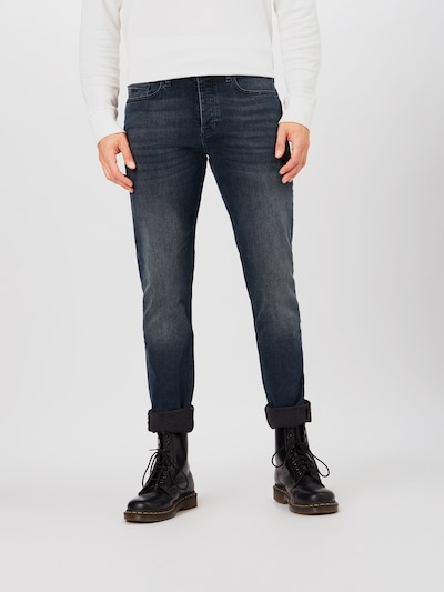 BOSS Jeans 'Taber BC-P' in blue denim: Frontalansicht