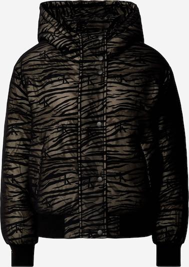 Calvin Klein Jeans Tussenjas in de kleur Bruin / Zwart, Productweergave