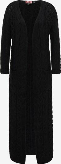 myMo ROCKS Strickjacke in schwarz, Produktansicht