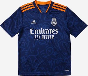 T-Shirt fonctionnel 'Real Madrid' ADIDAS PERFORMANCE en bleu