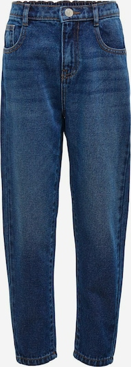 KIDS ONLY KONsaga Life Blue Mom Jeans in blau, Produktansicht