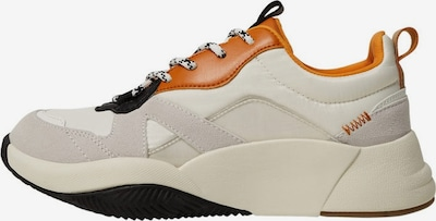 MANGO Sneaker 'Hong' in creme / cognac / schwarz, Produktansicht