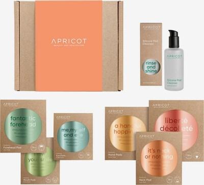 Apricot Geschenkset in transparent / weiß, Produktansicht