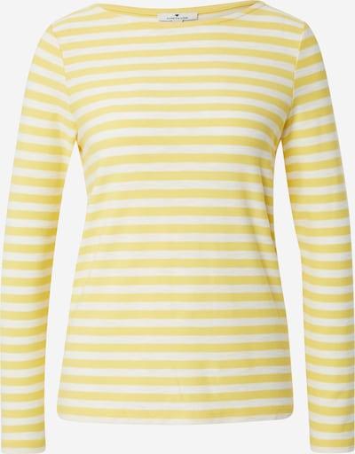 TOM TAILOR Koszulka w kolorze żółty / białym, Podgląd produktu