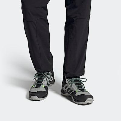 ADIDAS PERFORMANCE Outdoor laarzen in de kleur Lichtgrijs / Donkergrijs / Neongroen: Vooraanzicht