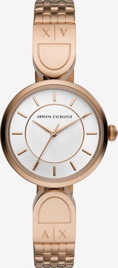 ARMANI EXCHANGE Uhr in rosegold / weiß, Produktansicht