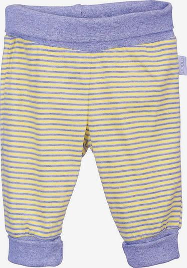 Stummer Hose in gelb / pastelllila / weiß, Produktansicht